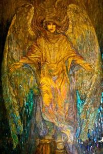 Angel of Light Mosaic